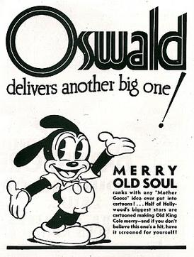 A version of Oswald redesigned by Walter Lantz